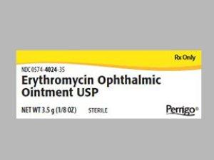 '.Erythromycin 5Mg G Ont 3.5Gm By Perrigo .'