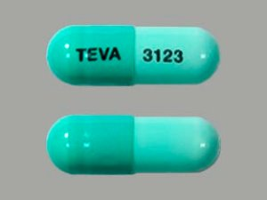 Rx Item-Dicloxacillin 250mg Cap 100 By Teva Pharma