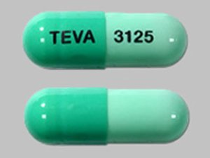 Rx Item-Dicloxacillin 500mg Cap 100 By Teva Pharma