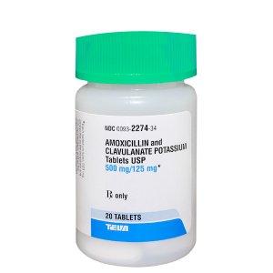 '.Amoxicillin-Pot Clavulanate .'