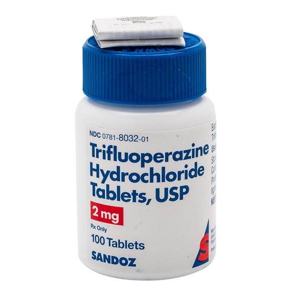 Trifluoperazine 2mg Tab 100 by Sandoz Pharma