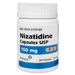 '.Nizatidine 150Mg Cap 60 By Actavis Pharm.'