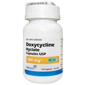 '.Doxycycline Hyclate 100mg Tab .'