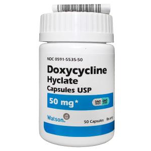 '.Doxycycline Hyclate 50mg Cap .'