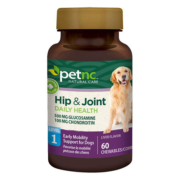 Dog Hip & Joint 500/100mg 60 Tab By 21st Century OTC(Vet)