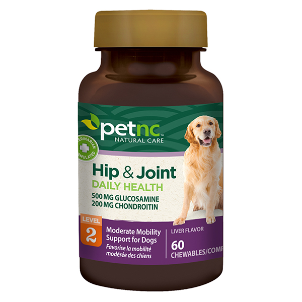 Dog Hip & Joint 500/200mg 60 Tab By 21st Century OTC(Vet)