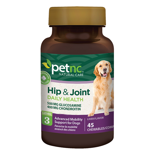Dog Hip & Joint 500/400mg 45 Tab By 21st Century OTC(Vet)