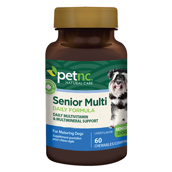 Dog Senior Multivitamin 60 Tab By 21st Century OTC(Vet)